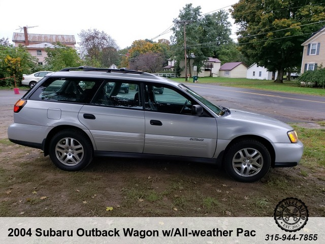 2004 Subaru Outback Wagon Wall Weather Package All Wheel Auto 4249
